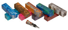 Acrylic Turning Blank 1.5x6 Game Call Stopper Mix n Match 30 more color choices