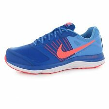 Nike Dual Fusion X Running Shoes Womens Royal/Lava/Blue Trainers Sneakers