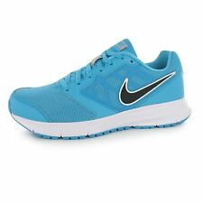 Nike Downshifter 6 Running Shoes Womens Blue/Black Run Fitness Trainers Sneakers