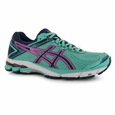 Asics GT1000 v4 Running Shoes Womens Mint/Pink Run Fitness Trainers Sneakers