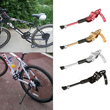 Bike Rear Adjustable Kickstand Cycling Bicycle Alloy Side Stand Support Leg Rod