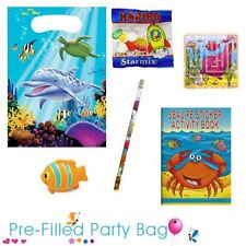 Pre Filled Ready Made Party Bag - Unisex Sealife - Option 2