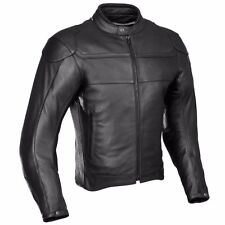 2018->BLACK MEN LEATHER JACKET MOTORCYCLE BIKER JACKET MOTORBIKE LEATHER JACKETS
