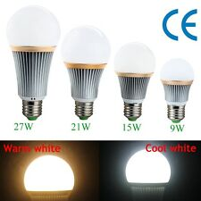 Dimmable E27 E26 9W 15W 21W 27W LED Spot Light Ceiling Bulb Lamp Cool/Warm White
