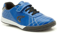 Clarks SWERVE GO Boys Blue Leather Velcro Trainers Shoes 8 - 1 F & G Fit BNIB