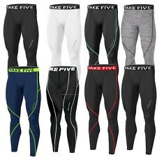 New Mens Baselayer Winter Long Pants Armour Compression Tights Trousers Gym