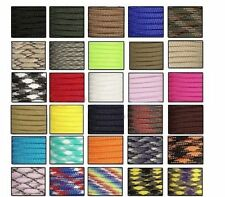 550 Paracord Parachute Cord Lanyard Mil Spec Type III 7 Strand Core100FT  DE