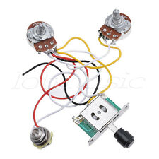 Electric Guitar Prewired Wiring Harness Kit for Fender Tele Parts 3 Way 250K