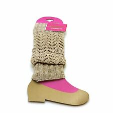 Envy Legwarmers Girls Cable Knit Legwarmers SELECT SIZE