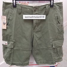 NWT DENIM & SUPPLY RALPH LAUREN MENS CHINO CARGO SHORTS OLIVE SIZE 33/34/38