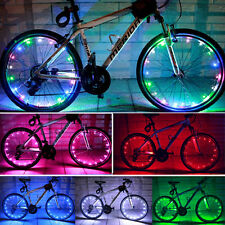 NEW LED Cycling Bike Bicycle Valve Cap Wheel Safety Tire Spoke Light Lamp Bright