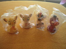 Kelloggs Cereal Disney LION KING Set of 4 Bobble Bobbleheads , Mint in Package!
