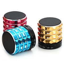 Portable Mini Bluetooth Speakers Metal Steel Wireless Smart Hands Free Speaker