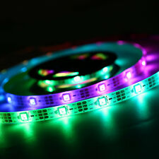 WS68 12 RGB 5050 SMD Waterproof Flexible USB 5V LED White Strip Lamps Light F5