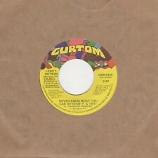 Leroy Hutson - Never Know What You Can Do / In The Mood - Curtom - Northern Soul
