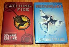 CATCHING FIRE & MOCKINGJAY Hardcover BOOKS Suzanne Collins 1st EDITIONS