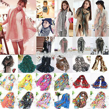 Fashion Womens Long Chiffon Scarf Wrap Ladies Shawl Girls Large Soft Scarves New