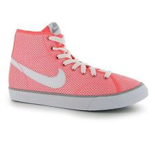 Nike Primo Court Meshed Trainers Junior Girls Lava/White Sports Shoes Sneakers