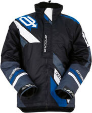Arctiva Mens Black/Blue Comp Insulated Snowmobile Jacket