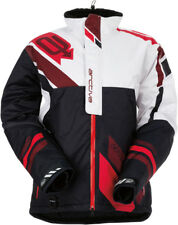 Arctiva Mens Black/Red Comp Insulated Snowmobile Jacket