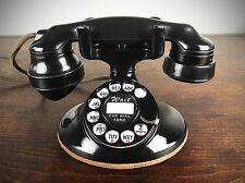 VINTAGE 1930s WESTERN ELECTRIC MODEL 202 TELEPHONE, ROTARY DIAL, REFURBISHED