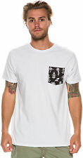 New Billabong Men's Spf Spacebatkiller Ss Tee White