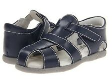 """Footmates Navy Blue """"Scout"""" Fisherman Sandals New in Box Sizes  7 & 8 Unisex"""