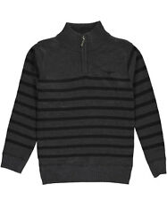"LR Scoop Little Boys' ""Ribbed Zip"" Sweater (Sizes 4 - 7)"