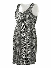 MAMALICIOUS MATERNITY BLACK & WHITE SPOTTED 'MLHIT' DRESS ALL SIZES BNWT RRP £35