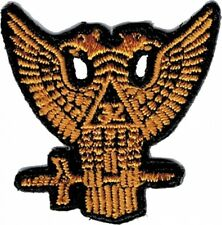 Scottish Rite 32nd Degree Wings Up Iron-On Patch