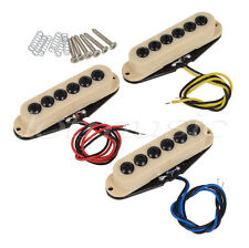 Electric Guitar Single Coil Pickup Set Invader Type For Strat Replacement Parts
