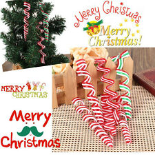 HOT 4pcs Christmas Tree Candy Decorations Xmas Party Home Hanging Ornaments Gift