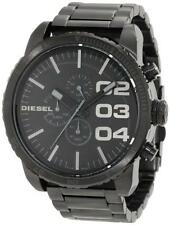 NEW with Box Diesel Mens Watch Black Stainless Steel DZ4207 Chronograph