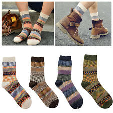 1Pair New Men Winter Socks Warm Thick Wool Mixture  Cashmere Casual Dress Socks