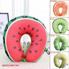 Microbead U Shaped Travel Fruit Neck Pillow for Sleeping / Cervical Neck Care