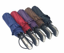 Automatic Compact Travel Umbrella with 10Rib Strong Windproof Waterproof Anti UV