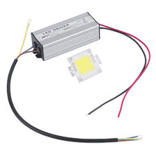 20W-100W Warm/Cool White LED Chip Bulb Light Waterproof LED Driver Power Supply#