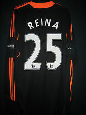 Liverpool 2012 English Carling Cup Final ADIDAS Goalkeeper Replica Shirt REINA