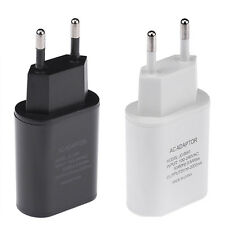 Dual USB 5V/2A EU/US/UK Plug AC Power Wall Charger Adapter For Cell Phone Tablet