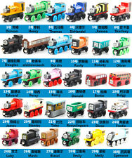 Hot Sale The Tank Engine Tender Wooden Magnetic Railway Train Toy Car