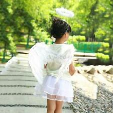 3Pcs Feather Angel Fairy Halloween Christmas Fancy Dress Wand Halo Wings Costume
