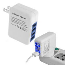 2.1A 4 Ports USB Portable Home Travel Wall Charger US Plug AC Power Adapter DP