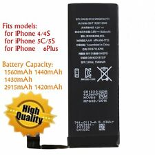 1560mAh Li-ion Battery Replacement with FlexCable for iPhone 4/5S/5C/6plus LOT G