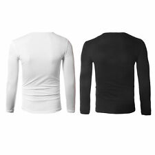 2016 New Hip Hop Style Round Neck Long Sleeve Korean Style T-Shirt Tops F5