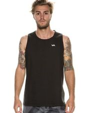 100% AUTHENTIC MENS RVCA FREE AGENT TANK ACTIVE WEAR  S OR  M