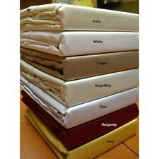 BEDDING ITEMS SHEET SET/ FITTED SHEET/ PILLOW CASES 1000TC EGYPTIAN COTTON @SALE