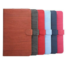 Folio WOOD Pattern Leather Stand Smart Case Cover For Huawei MediaPad M3 8.4''