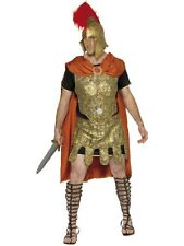 Roman Soldier / Centurion / Gladiator Tunic Mens Fancy Dress Costume Outfit