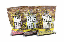 Big Hit Boilies 250g - 1kg Bags All Flavours And Sizes