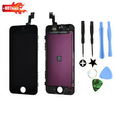 Black Touch Screen Digitizer +LCD Display Assembly for iPhone 5C Replacement Lot